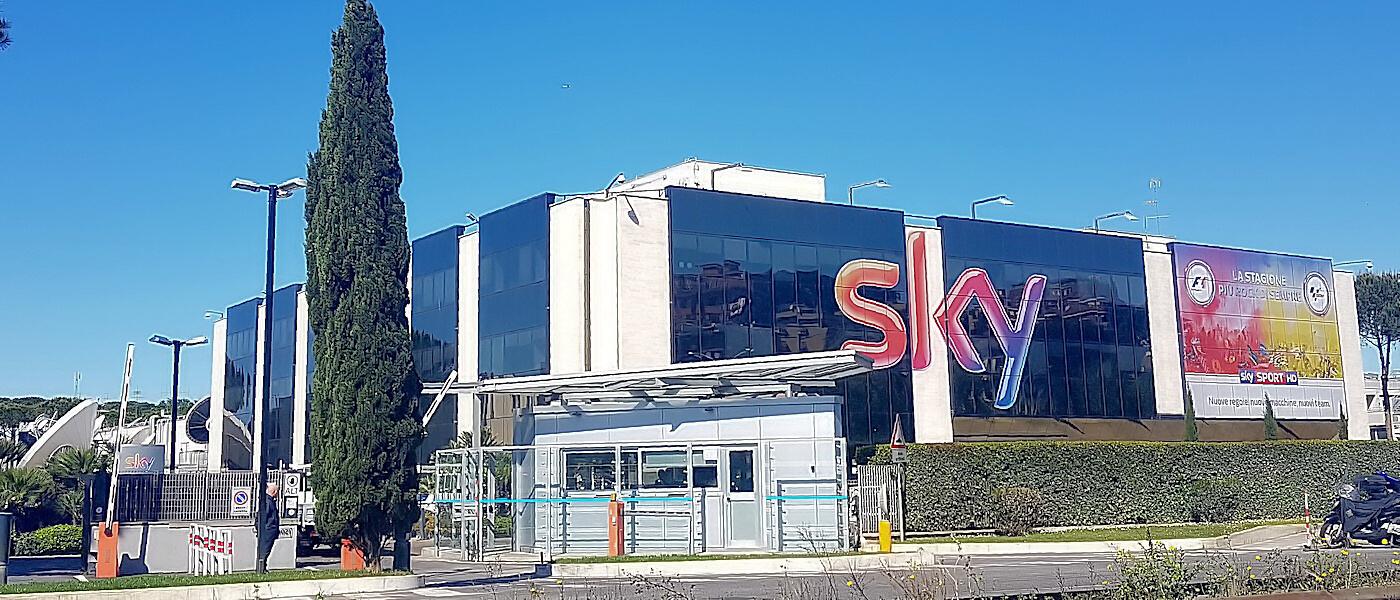 Hotel near sky italia
