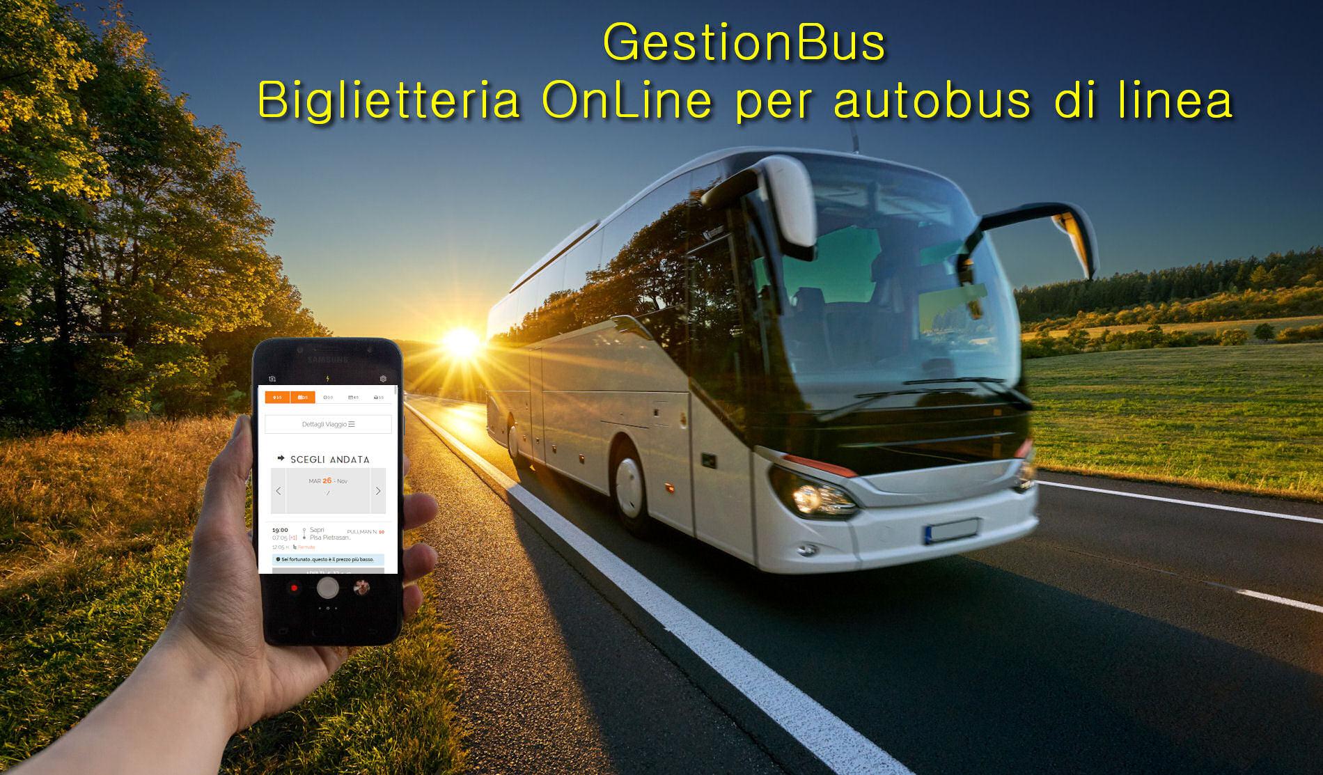Gestionbus - software di biglietteria online per autobus di linea